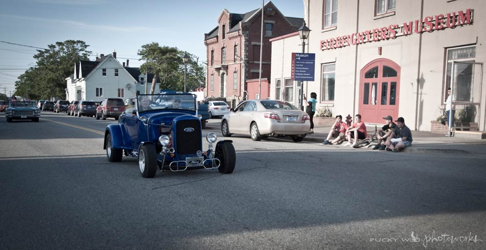 Blue Rat Rod