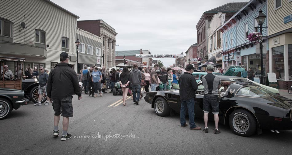 Main Street Yarmouth During Car Show
